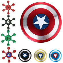 Buy Avenger Fidget Spinner Finger EDC Hand Spinner Tri Kids Autism ADHD Anxiety Stress Relief Focus Handspinner Toys Metal for $2.49 in AliExpress store