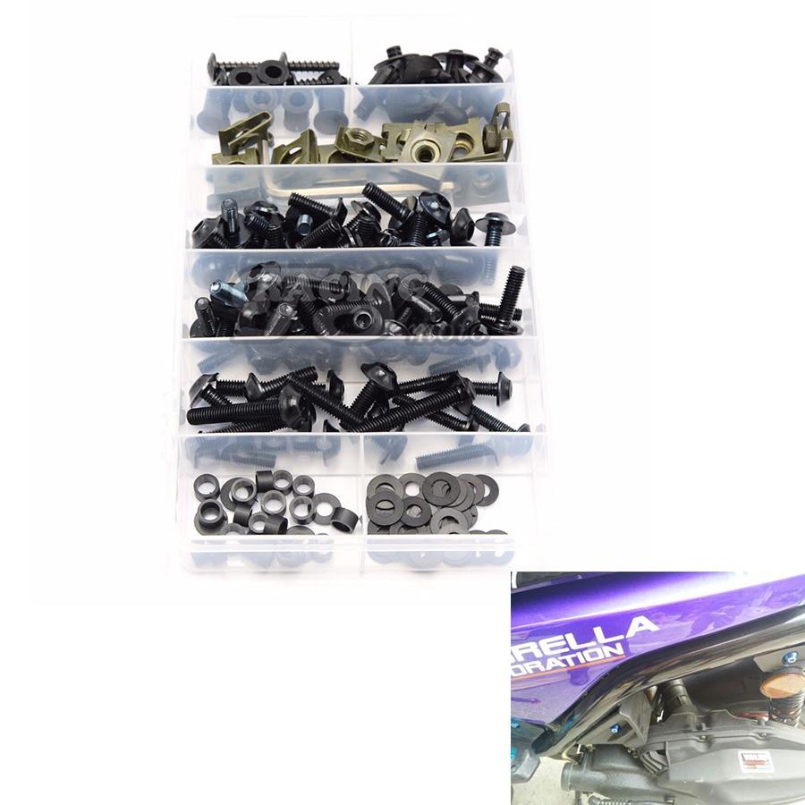 Motorcycle accessories Fairing Bolt Screw Fastener Fixation for honda cb600f hornet ktm 690 atv r25 bmw gs 1200 yamaha r1 r25 r1<br>