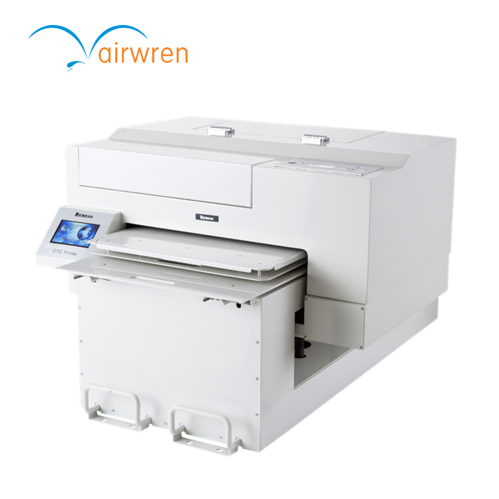 Hefei hanwn automatic equipment franchise store small for T shirt printing franchise