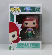 Funko Pop Princess Little Mermaid  Ariel PVC Figures Anime Movie Vinyl Cute Action Figure Collection Cartoon Character Doll Toys