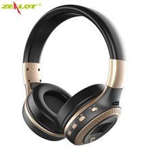 Zealot B19 Wireless Bluetooth 4.1 Stereo Headphone TF Card FM Radio AUX LCD Headset HiFi Powerful Bass Stereo Earphone Hot Sale(China)