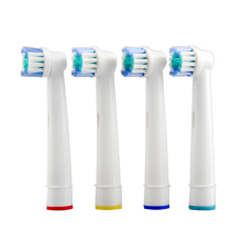 4 Pcs/set Electric Toothbrush Heads B SB-17A  Replacement for Oral Dual Clean Pro care Electric Toothbrush Heads