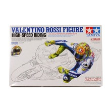 OHS Tamiya 14118 1/12 Valentino Rossi Figure High Speed Riding Supplies for Assembly Scale Motorcycle Model Building Kits