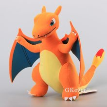 "Anime High Quality Rare Charizard Plush Toy  Charizard Figures Stuffed Dolls 13"" 33 CM Children Present"