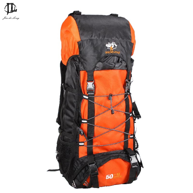 fashion stylish Brand Waterproof Nylon Travel Professional 600D Backpack 70 L Capacity Military Backpack<br>
