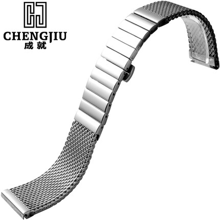Woven Steel Strap For Milanese For IWC For Schaffhausen Mesh Bracelet 18 20 22 24 mm Quick Release Interface For Band Man Woman<br><br>Aliexpress