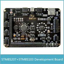 STM8S Development Board ARM STM8S207 + STM8S103 Board with Color Touch Screen Audio Voice Gravity Sensor interface(China)