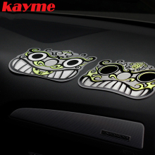 Kayme Cartoon Car Anti Slip Pad Lucky Rubber Mobile Sticky Exorcise Evil Spirits Sticky Gel Pad For Key Coin Decorations(China)