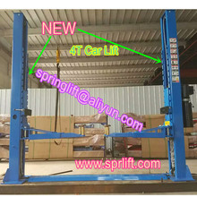 Manual lock release 2 post car hoist for car lifting with CE approve model SP-C4000(China)