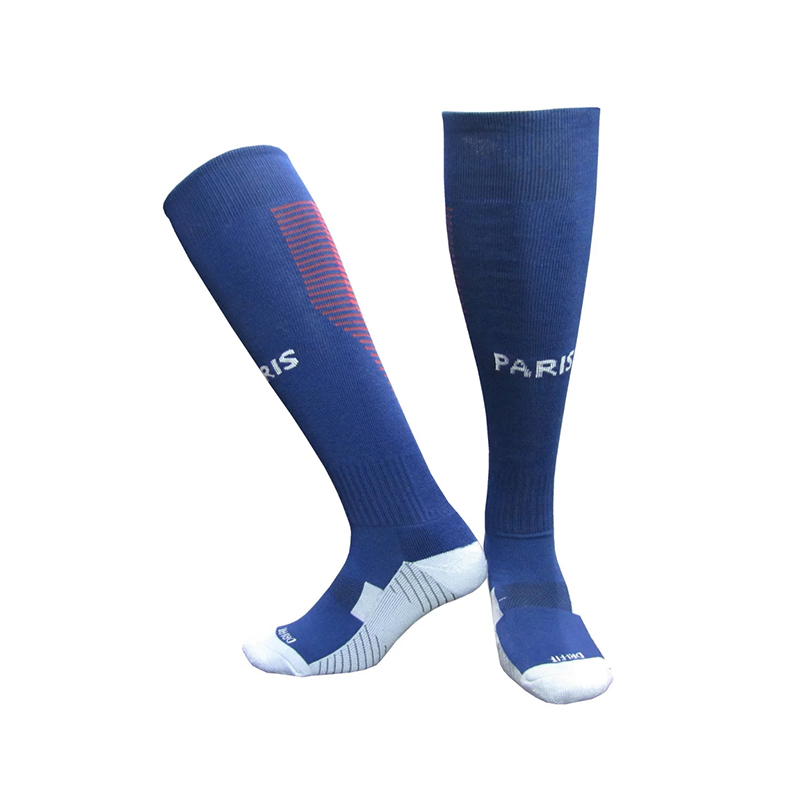 No LOGO Adult Professional Clubs Football Barreled Knees Slip Bottom Thick Stocking Training Soccer Socks Compression Socks(China (Mainland))
