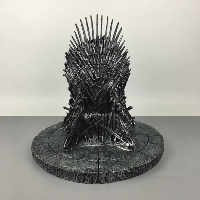 Game of Thrones Action Figure Toys The Iron Throne Starks Sword Chair Figure Model Toy brinquedos Decoration Gift 17cm <br>
