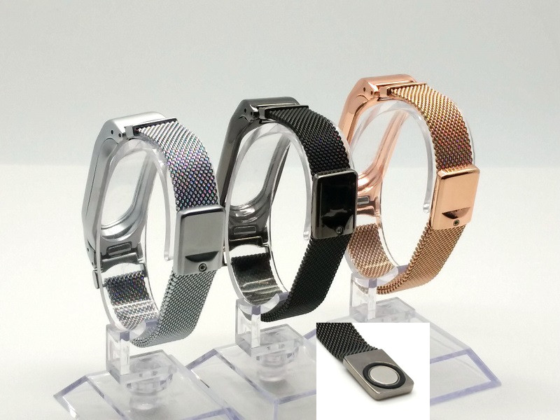 Sale Metal Strap Band For MiBand 2 Wristbands Stainless Steel Bracelet For Xiaomi Mi Band 2 Replace For Mi Band 2 Free shipping<br><br>Aliexpress