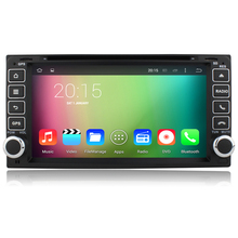 Quad core Android 5.1 Car dvd player for Toyota Hilux VIOS Old Camry Prado RAV4 Prado 2003-2008 GPS head unit Car gps radio
