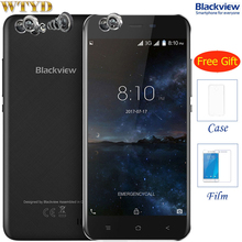 3G Blackview A7 RAM 1GB+ROM 8GB Dual Back Cameras 5.0 inch Android 7.0 MTK6580A Quad Core up to 1.3GHz Dual SIM GPS Smartphone(China)