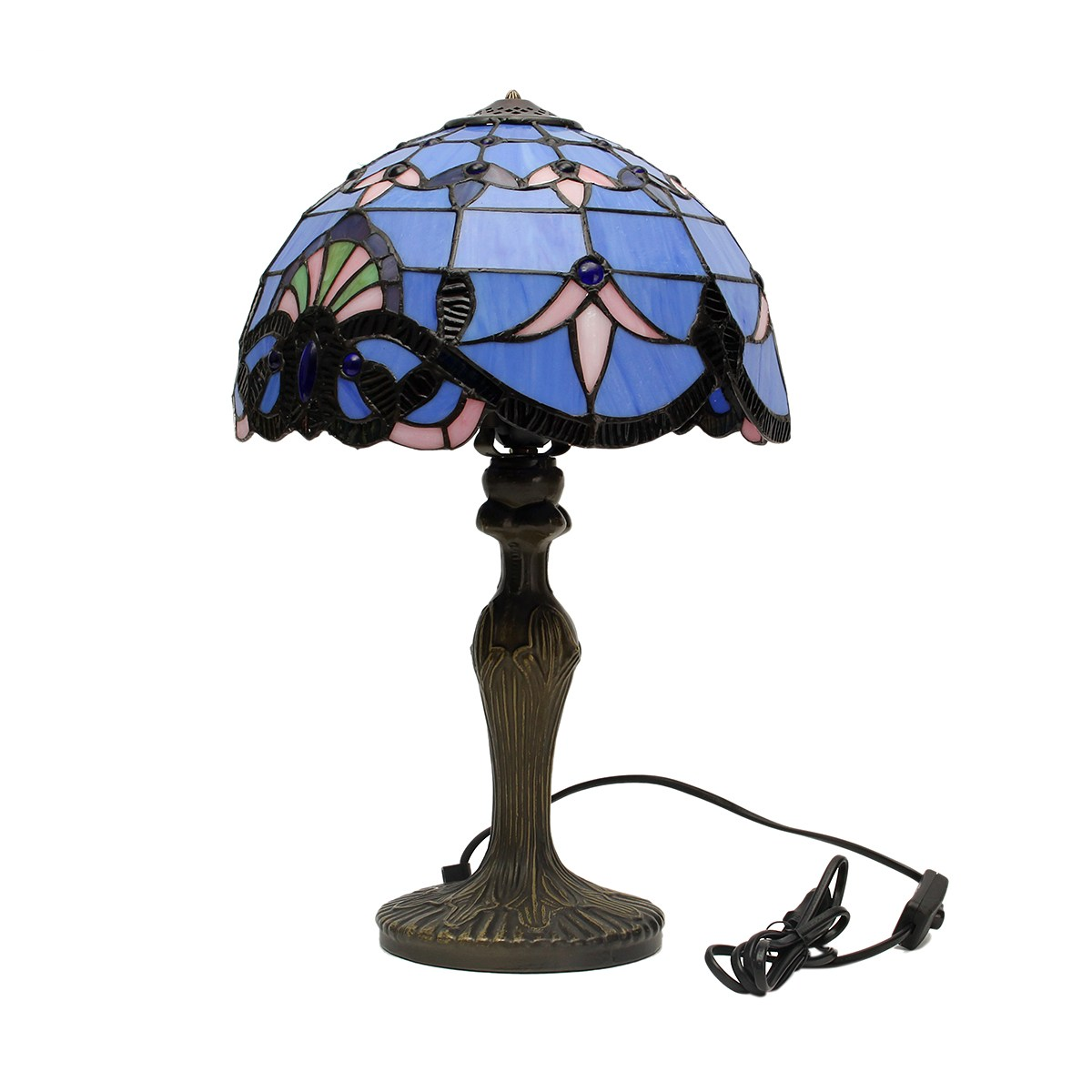 Achetez en gros tiffany lumi re de nuit en ligne des for Lampe de chevet style anglais