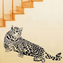 Delicate Leopard Car Sticker 3D Animal Office Wall sticker Home Decor Wall Decoration Good Price