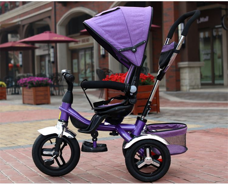 2017 kids Tricycle Pram 3 wheel Baby Stroller Child Three Wheels Carriage Baby Buggy Bike Bicycle For 6 Month to 6 Years Old16