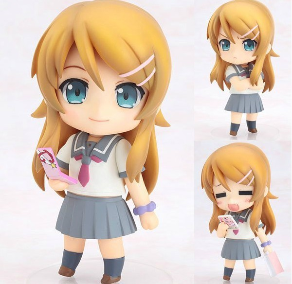 Free Shipping Cute 410cm My Little Sister Cant Be This Cute Kirino Kousaka Nendoroid PVC Action Figure Model Toy Retail<br><br>Aliexpress