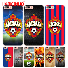HAMEINUO Football CSKA Moscow Team cell phone Cover case for iphone 4 4s 5 5s SE 5c 6 6s 7 8 X plus(China)