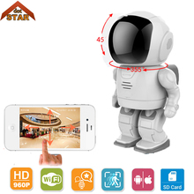 Robot camera Wifi 960P 1.3MP HD Wireless Camera Stardot support two-way audio Night Vision Home Baby Monitor Wifi CCTV Camera