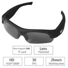 Lightdow 1080P Wireless Sunglasses Camera Eyewear Glasses Recorder Support TF Card Video Recorder DVR DV Camcorder(China)
