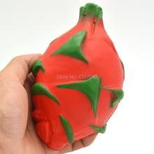 15 шт./лот jumbo дракон фрукты мягкими Коллекционные вещи замедлить рост 13 см детские игрушки оригинальной упаковке(China)