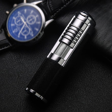 Honest Inflatable metal lighters Outdoor portable personality gift boutique high-end lighter torch lighter with punch