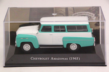 IXO Altaya 1:43 Scale Chevrolet Amazonas 1963 Car Diecast Models Limited Edition Collection Toys(China)