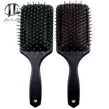 2017 Black Cushion Comb Massage Comb Pet Dogs & Cats Supplies Air Bath Brush With Round-head Particles Protective Comb