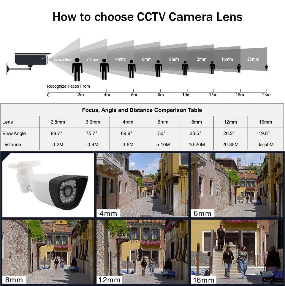 Smar Super CCTV HD 25601440 4MP AHD Camera Outdoor Waterproof Security Video Surveillance Camera 4 IR Array Infrared Metal Case (2)