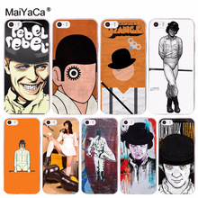 MaiYaCa Movie A Clockwork Orange High Quality Phone Accessories Case for iPhone 8 7 6 6S Plus X 10 5 5S SE 5C 4 4S Coque Shell(China)