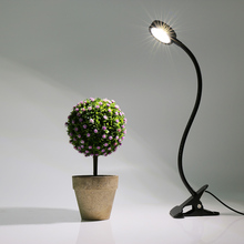 New LED Grow Lights With 44 LEDs Clip Lamp Flexible Gooseneck Dimmable For Indoor Plants Greenhouse Pot Culture(China)