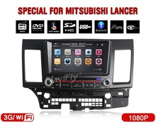 "hot+8"" Car DVD Player GPS navigation autoradio For Mitsubishi Lancer 2007 2008 2009 2010 2011 2012 2013 + 3G internet"