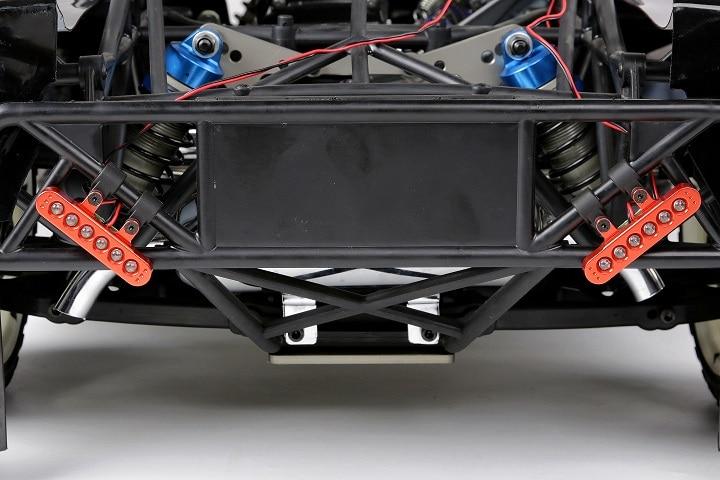 CNC Rear Light Bumper Base Rear Light Tail Lights For 1/5 LOSI 5IVE-T KM X2 RCMK ROVAN LT Rc CAR Baja Spare Part<br>