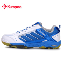 Kumpoo Badminton Shoes for Men And Women Good Quality Light Wear-resisting Gym Sneakers KH-39 Big Size L725(China)