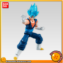 "Anime ""Dragon Ball Z"" Original BANDAI Tamashii Nations SHODO Vol.5 Action Figure - Super Saiyan God SS Vegetto (9cm tall)"