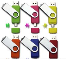 High quality 8 GB 16 GB 32 GB cheapest price usb 2.0 double usb otg mobile phone usb flash drive