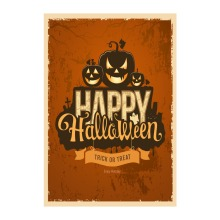 Double Sided Decorative Garden Flags For Happy Halloween Pumpkin Designed Printing Outdoor And Indoor Flag Home Banners