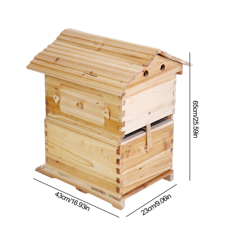 5 Pieces Portable Foldable Honey Collection Box Case Frame Beekeeping Tool