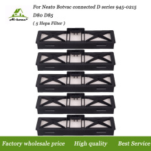 5PCS/lot HEPA Filter for Neato Botvac Connected D Series Ultra Performance Filters Replaces for Neato D Series 945-0215 D80 D85