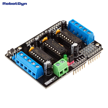Motor Shield L293D 4DC/2Stepmotors for Arduino. (Assembled)