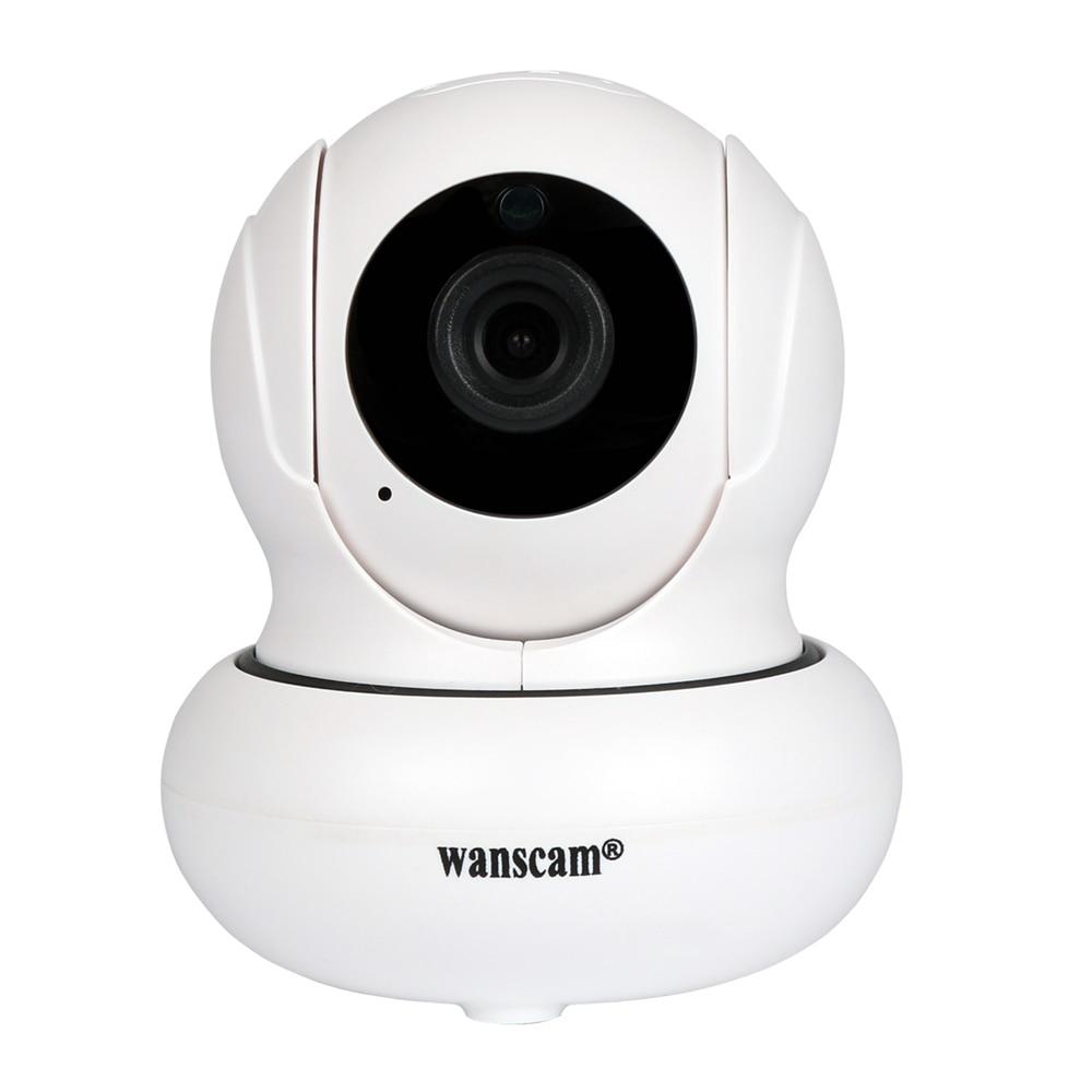 Wanscam HW0021 Wireless Wifi 720P IP Camera Dual Audio P2P Plug AND Play Pan Tilt Security Network Indoor Camera IR Night Vision<br>
