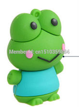 cartoon frog USB 2.0 usb flash drives thumb pendrive u disk usb creativo memory stick 2GB 4GB 8GB 16GB 32GB 64GB S259