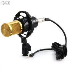 BM-800 Condenser Microphones Professional 3.5mm Wired With Shock Mount Broadcasting Microphone For Computer Conference Karaoke