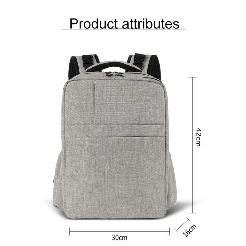 Baby Diaper Mommy Bag Multifunctional Fashion Large Capacity Shoulder Out Backpack Waterproof Infant Maternity Nursing Bag