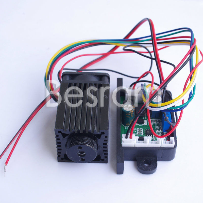 300mw 637nm 638nm Laser Diode Module TTL/Analog Stage Lighting ML520G71 in<br><br>Aliexpress