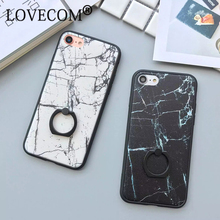 For iPhone 7 7 Plus 6 6S Plus Silk Lines Black & White Marble holder Pattern Soft TPU Anti Shock Mobile Phone Cases YC2026