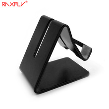 RAXFLY Aluminum Alloy Desktop Stand Holder For iPhone 6 7 6S Plus 5S SE Tablet PC Anti-skid Bracket Holder For Huawei Mate 9