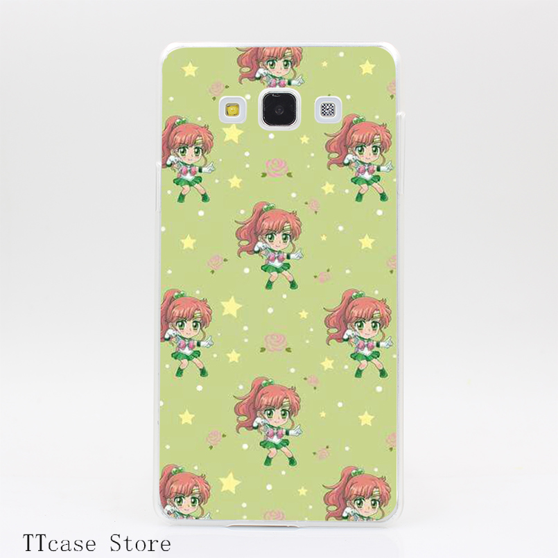 2993CA sailor moon crystal text hellip Transparent Hard Cover Case for Galaxy A3 A5 A7 A8 Note 2 3 4 5 J5 J7 Grand 2 & Prime