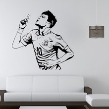 Neimarkar Barcelona Famous football player Art Wall Stickers home decoration  mural room decal